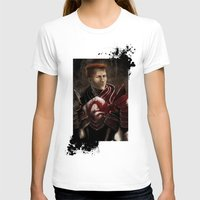 "dragon age inquisition T-shirts featuring Krem - Dragon Age/Mass Effect crossover by Barbara ""Yuhime"" Wyrowińska"