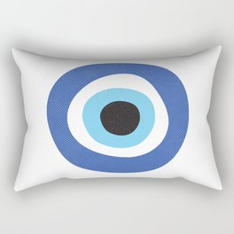 Evi Eye Symbol Rectangular Pillow