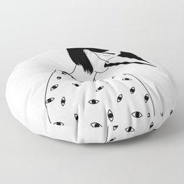 too many lies Floor Pillow