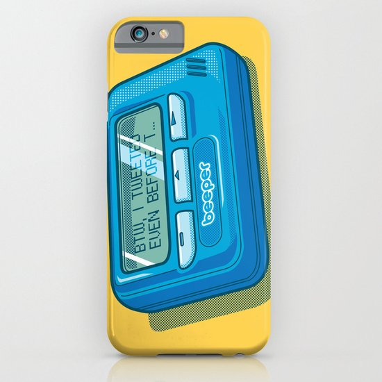 Text Hipster iPhone & iPod Case