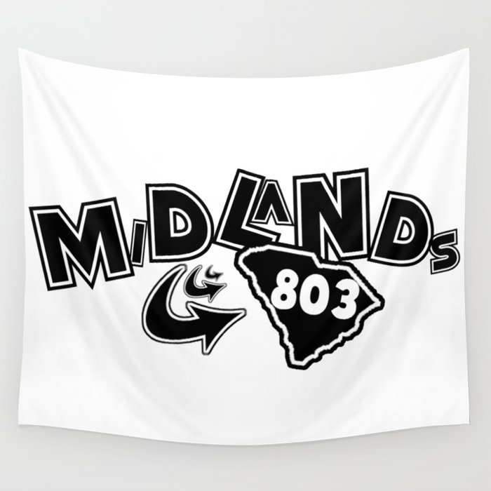 Midlands 803 Wall Tapestry
