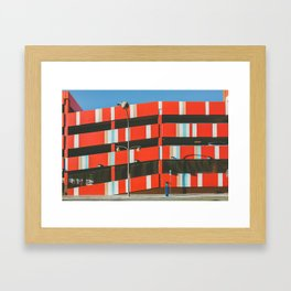 El Cortez Hotel Las Vegas Framed Art Print