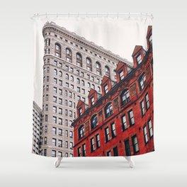 New York City - Flatiron Building Shower Curtain