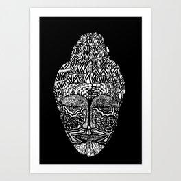 Detailed Buddha Art Print