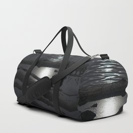 Scout Lake Under Snow and Sun Duffle Bag