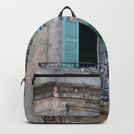 New Orleans French Quarter Balcony Backpack
