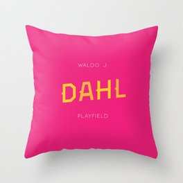 Dahl Playfield Throw Pillow