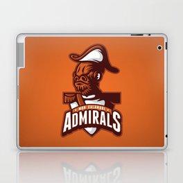 Mon Calamari Admirals on Orange Laptop & iPad Skin