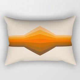 Golden Corner Rectangular Pillow