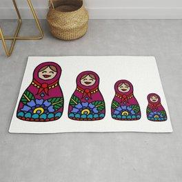 Russian Nesting Dolls Rug
