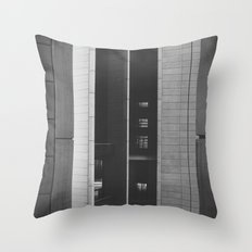The space in-between Throw Pillow