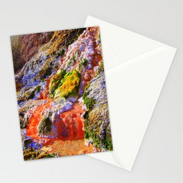 RAINBOW MINERAL WATERFALL Stationery Cards