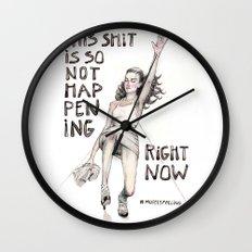 #ModelsFalling 1 Wall Clock
