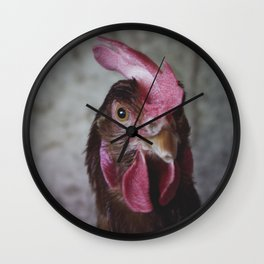 Hen II Wall Clock
