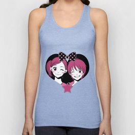 Lovely Complex Unisex Tank Top