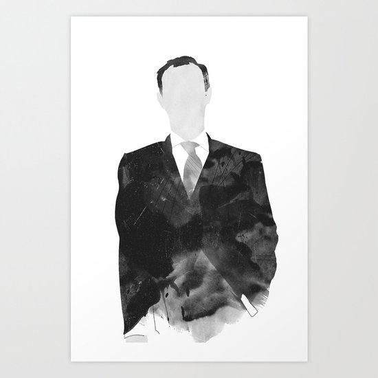 Mycroft Art Print