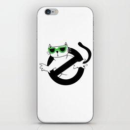 Cat Thug Buster | Digital Art iPhone Skin
