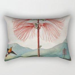 Robert John Thornton - Large–Flowering Sensitive Plant Rectangular Pillow