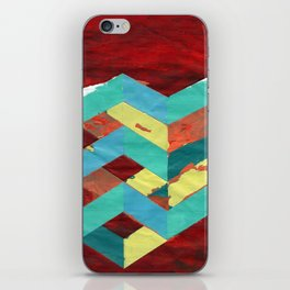 PAINTED GEOMETRY iPhone Skin