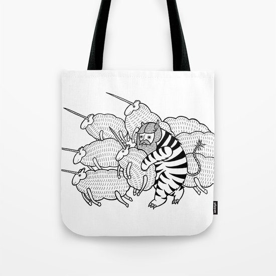 On why this variation of baby angora unicorns went extinct  Tote Bag