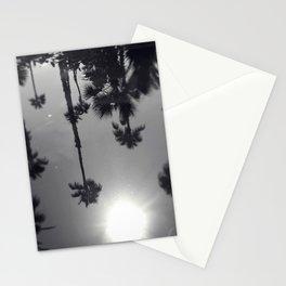 Palm Tree Reflection Stationery Cards