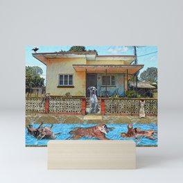 Slip n Slie Mini Art Print