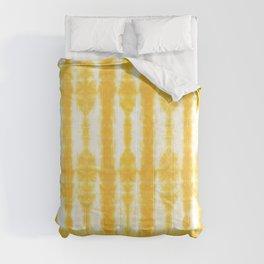 Yellow Tiki Shibori Comforters