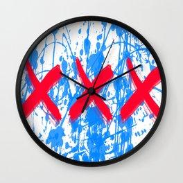 """""""XXX"""" Wall Clock"""