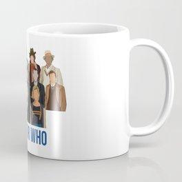 Doctor Who Through the Years Coffee Mug