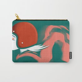Moped Girl Carry-All Pouch