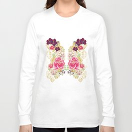 80's Peonies Long Sleeve T-shirt