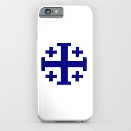 Jerusalem Cross 11 iPhone Case