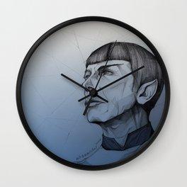 Live Long and Prosper - Blue Wall Clock