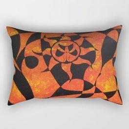 the day Rectangular Pillow