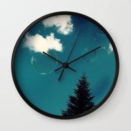 Expect Miracles Photography Wall Clock