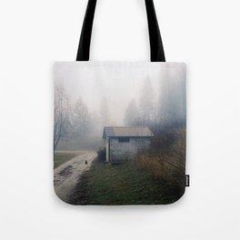 Barn Cat Tote Bag