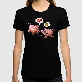 Money or Love? T-shirt
