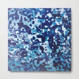 Surfing Camouflage #1 Metal Print