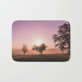 Sunrise in the Country Bath Mat