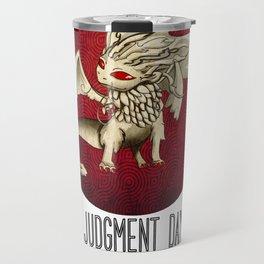 Judgment Dragon inspired card Travel Mug