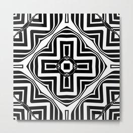 Black White   Leyana #2 Metal Print