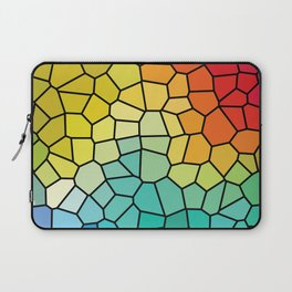 Super Cool Stained Glass Window Laptop Sleeve