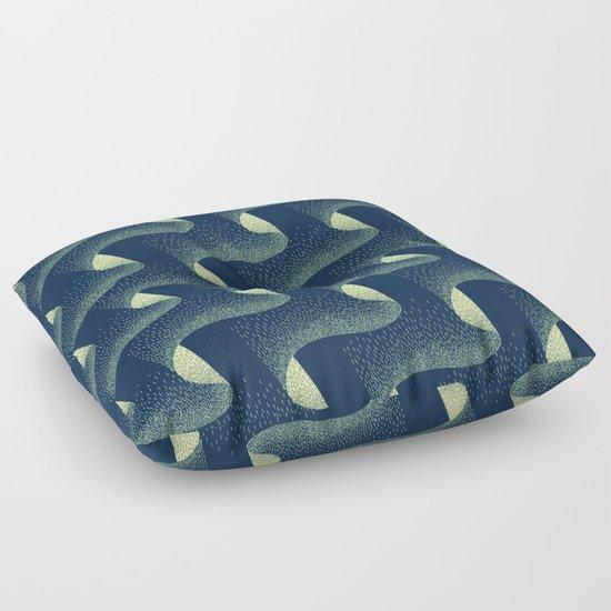 Aurora Borealis Floor Pillow