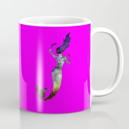 Galaxy Mermaid 2 (Pink) Coffee Mug