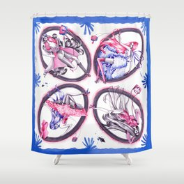 Seasons Shower Curtain