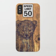 Not my rules Slim Case iPhone X
