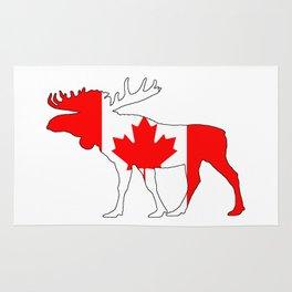 """Moose """"Canada"""" Rug"""