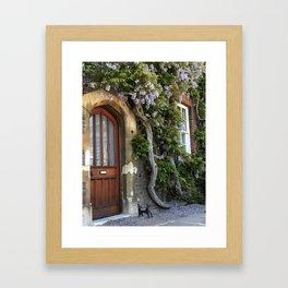 Vine Door at Hampton Court Palace Framed Art Print