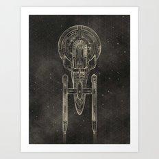 NCC-1701 Art Print
