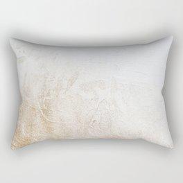 Gold Glitter Detail Rectangular Pillow